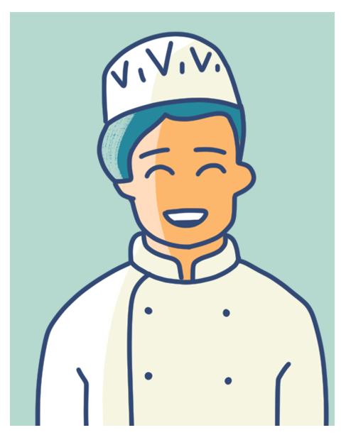 avatar cuisinier