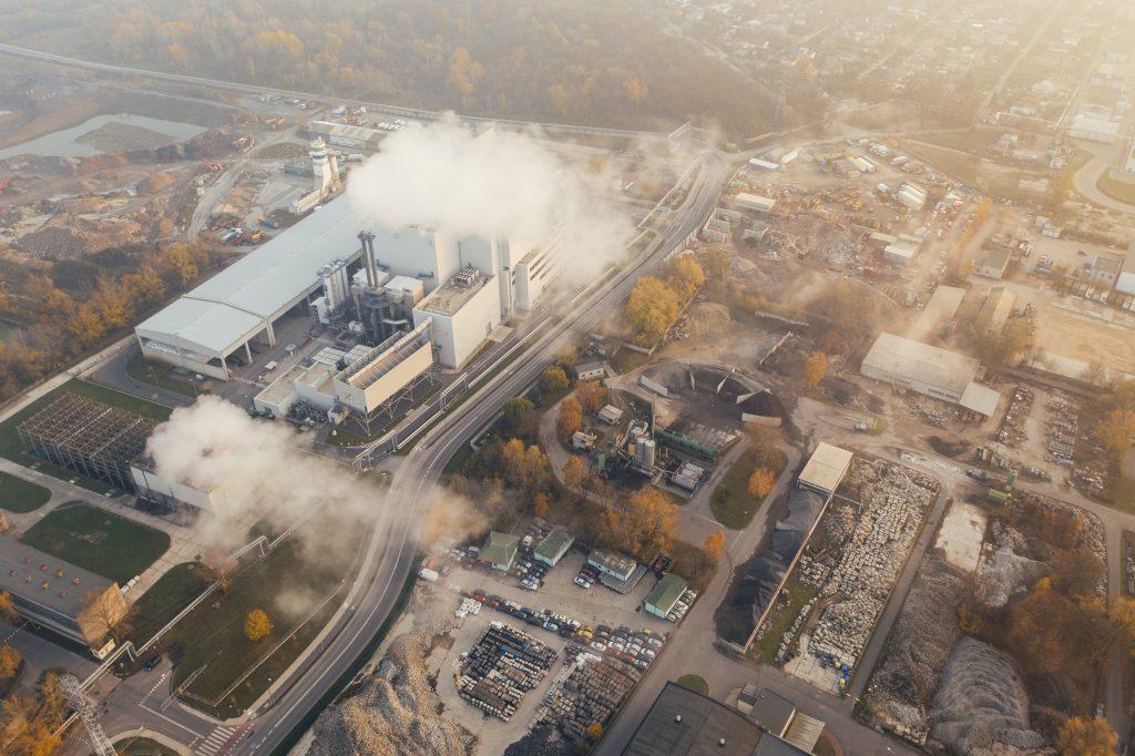 Usine et pollution